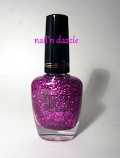 fuschia, glitter, pink, purple, polish, milani, FX