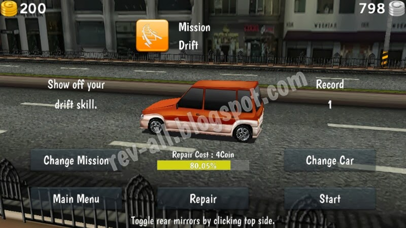 Menu Permainan Dr. Driving (rev-all.blogspot.com)