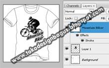 ... lengkap cara membuat desain baju dan kaos ( t-shirt ) dengan photoshop
