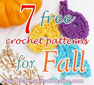 7 crochet patterns for fall