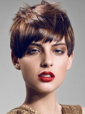pelo corto mujer
