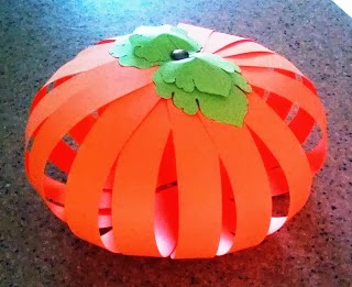 Encant Fet A Ma Manualidades Para Halloween Calabaza De Papel - Calabaza-de-papel