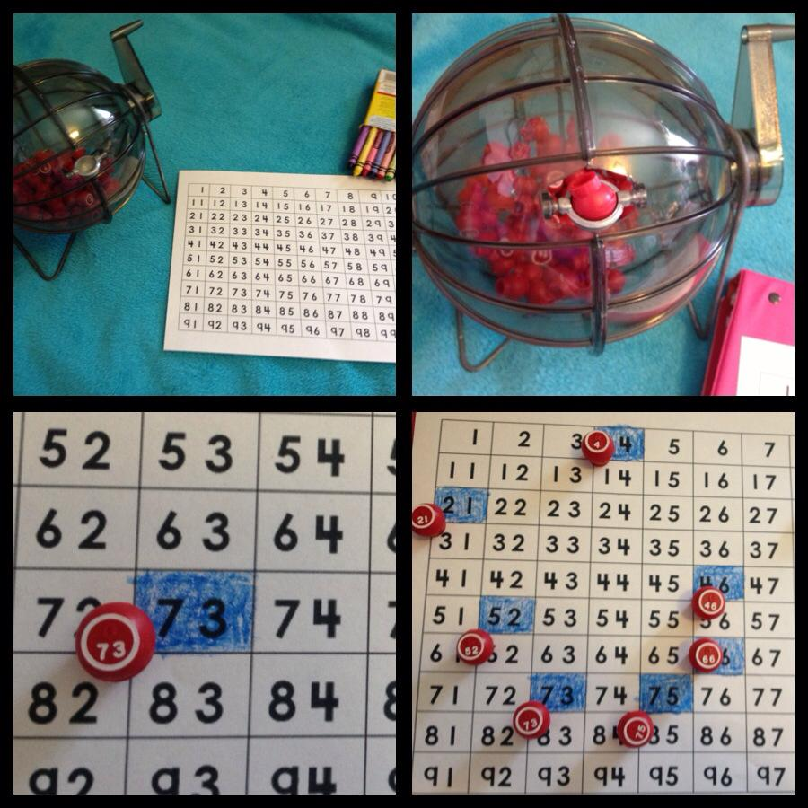 Miss Van Marens Fantastic First Grade Thrift Store Math Game Random Number Generator Based Last Night We Went To A In Salt Lake And I Happened Upon An Old Bingo Spinner Cage Instantly Thought