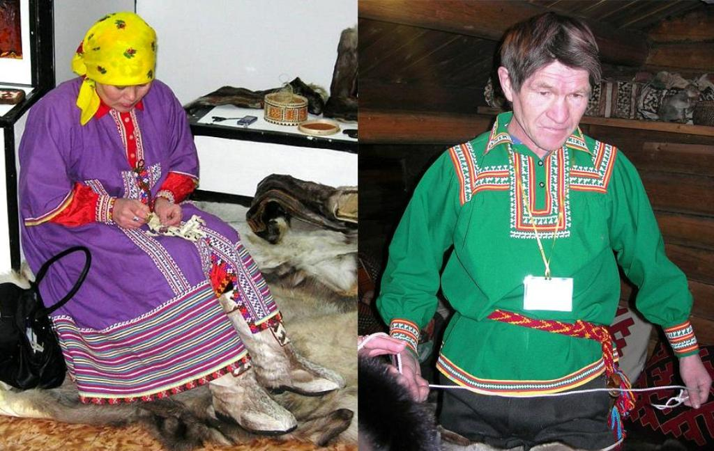 Одежда народа Ханты богата