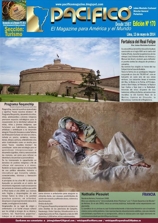 Revista Pacífico Nº 170 Turismo