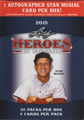 2015 Leaf Heroes of Baseball – Base Cards