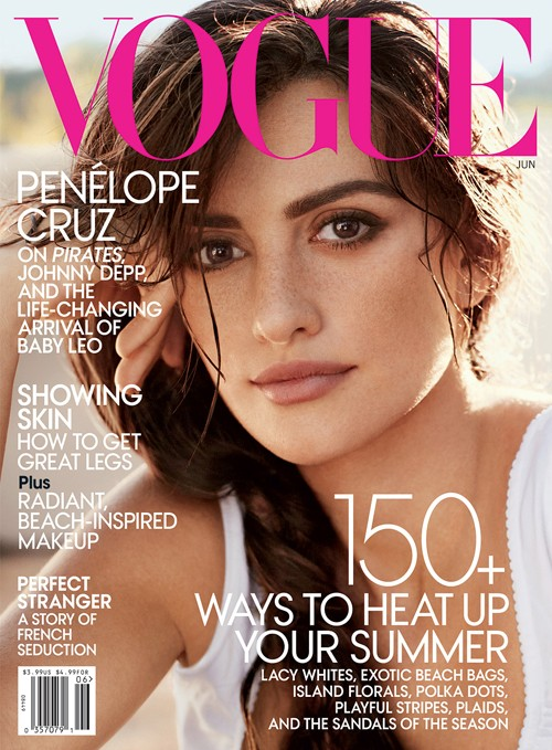 penelope cruz vogue. Penelope Cruz: Vogue