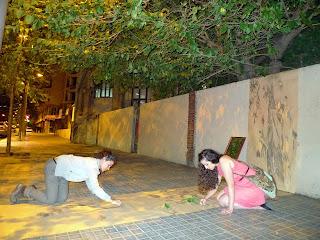 """Tres estudiantes de arquitectura """"alargan"""" el jardín de la casa Tosquella, mutilado por la Ronda General Mitre"""