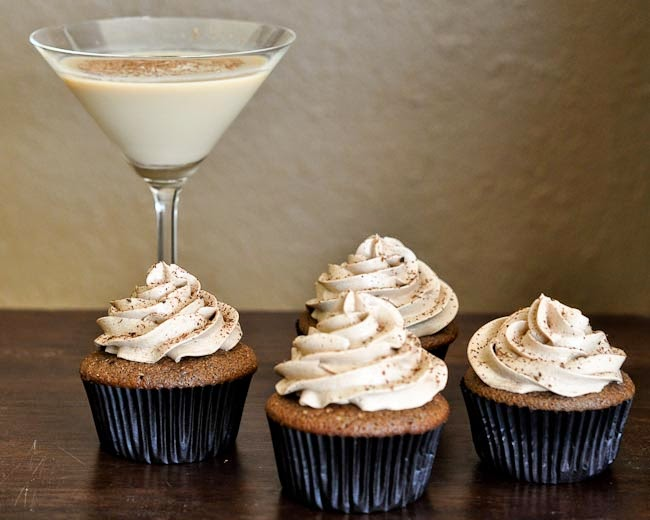 Chocolate Martini Cupcakes