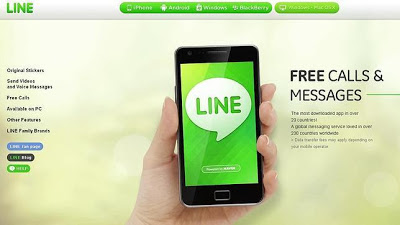 Line, la alternativa nipona a Whatsapp