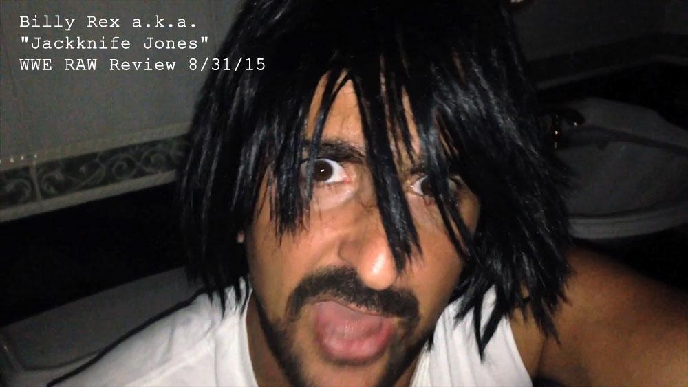 YouTube Rum and Jokes WWE Jackknife Jones wrestling character