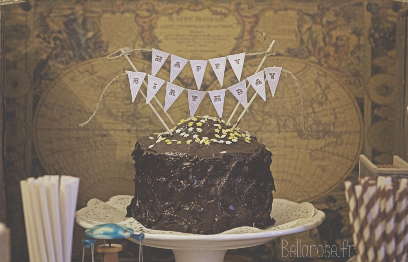 déco de gâteau