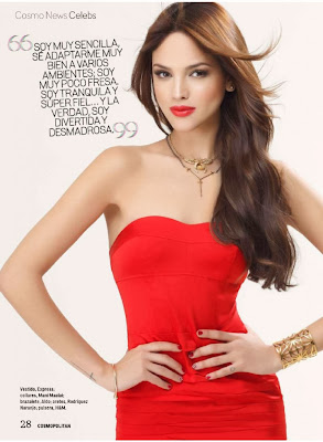 Eiza González HQ Pictures Cosmopolitan Mexico Magazine Photoshoot February 2014