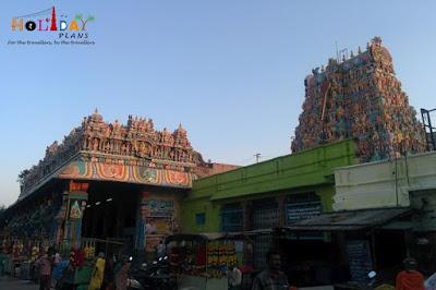 Tiruparamkundaram Temple from Outside