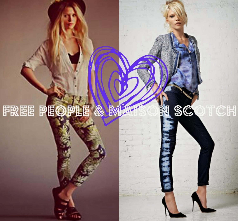 Free People fashion and Maison Scotch