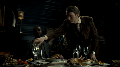 Hannibal and Tobias dinner