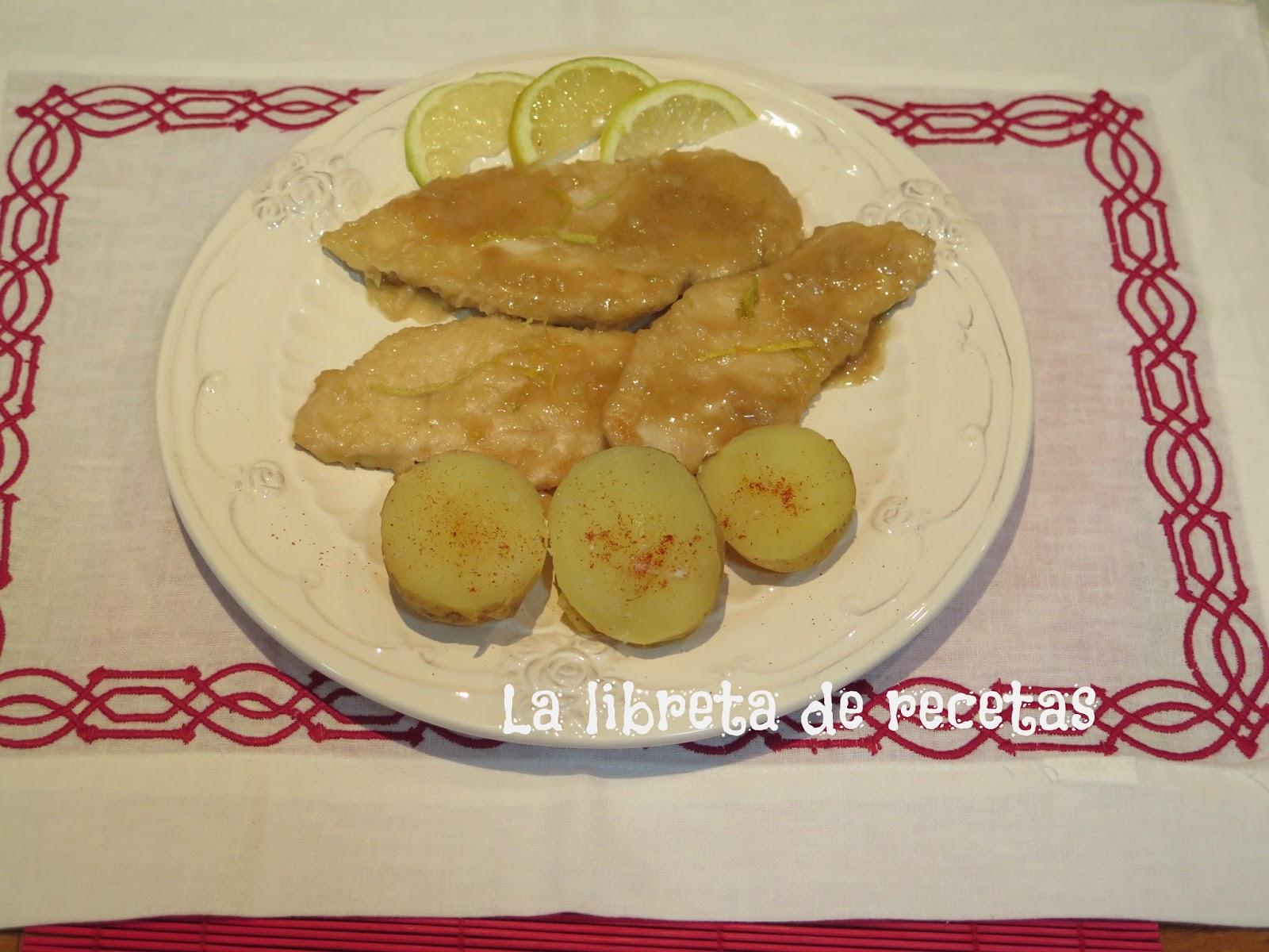 La libreta de recetas pechugas al lim n de arevalo - Pechugas al limon ...