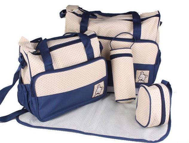 Baby 5 In 1 Diaper Bag