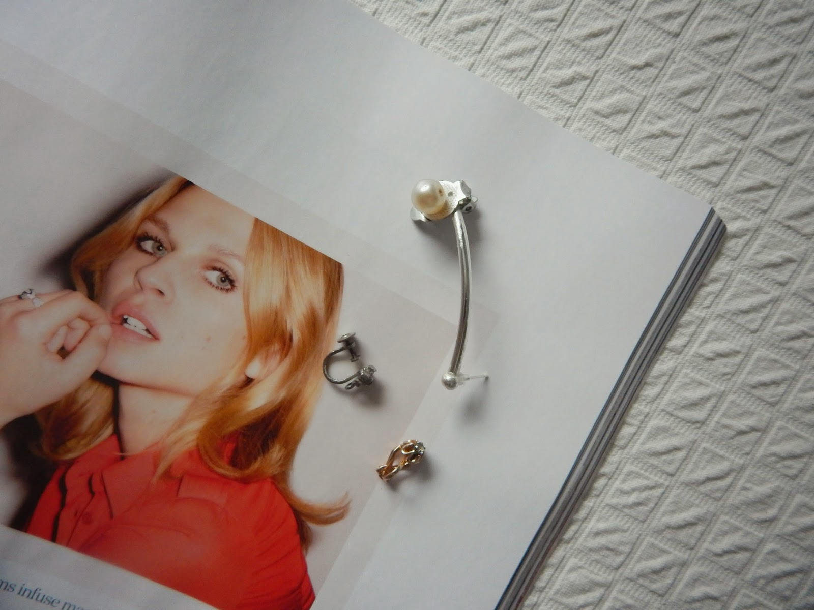 DIY Pearl Ear Cuff