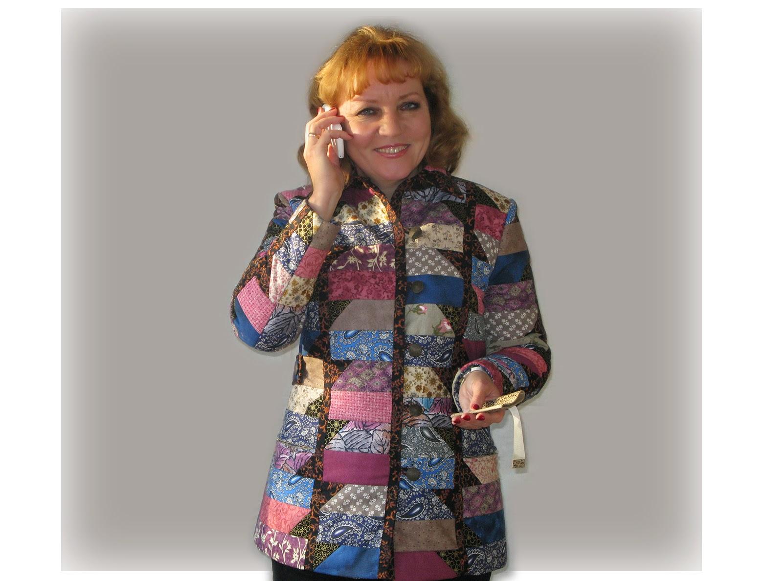 Шитье куртки мастер класс с фото #5