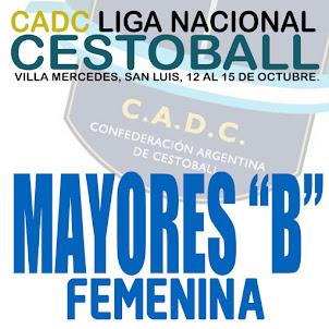 """CADC LIGA NACIONAL """"B"""" FEMENINA"""