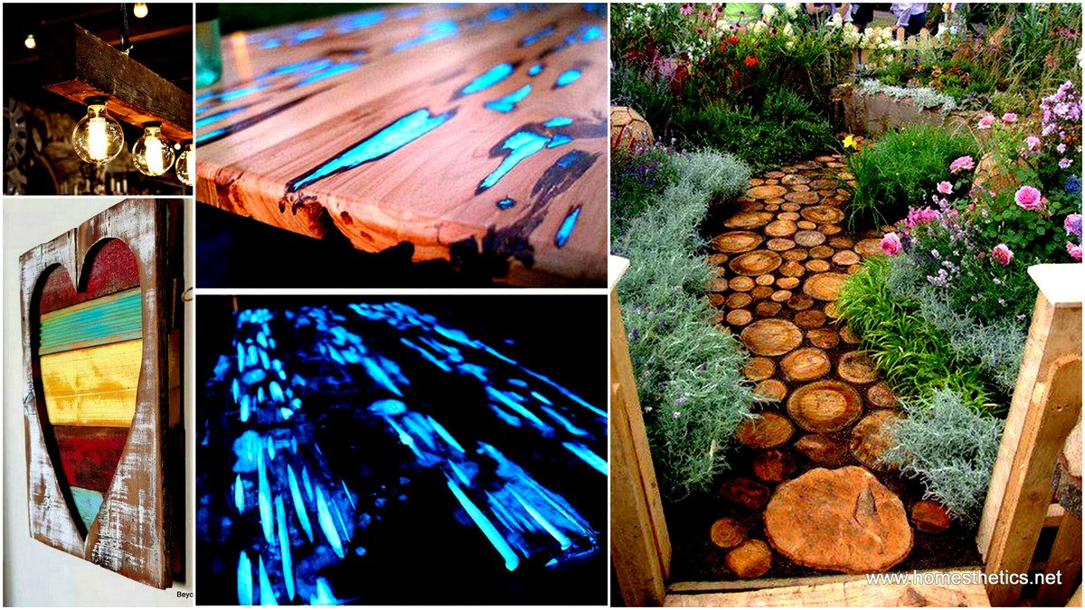 60 creative ways of recycling old wood idees and solutions for Creative recycling projects