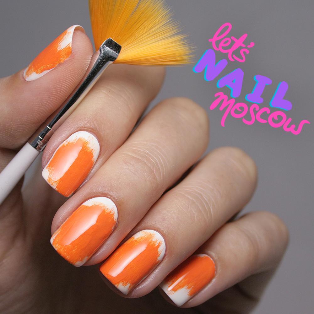 Апельсиновые ногти