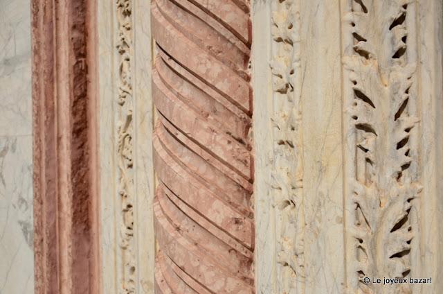 Sienne - cathédrale - façade - portail