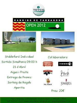 ranking Tarragona a Pitch & Putt Ampolla