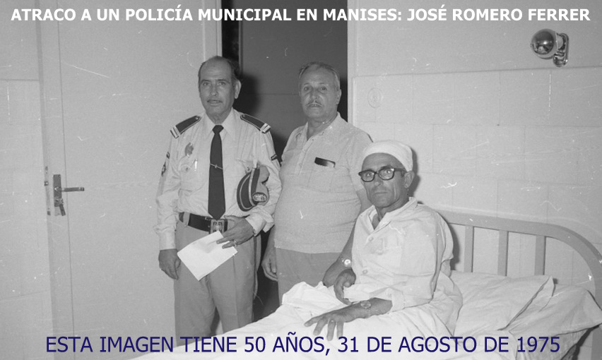 31.08.15 ATRACO A UN POLICÍA MUNICIPAL DE MANISES, HACE 50 AÑOS