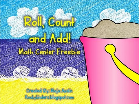 http://www.teacherspayteachers.com/Product/Roll-Count-and-Add-FREEBIE-1257746