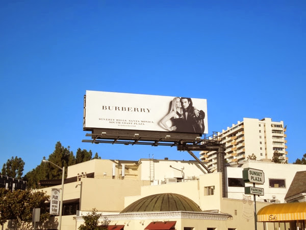 Burberry FW 2013 billboard