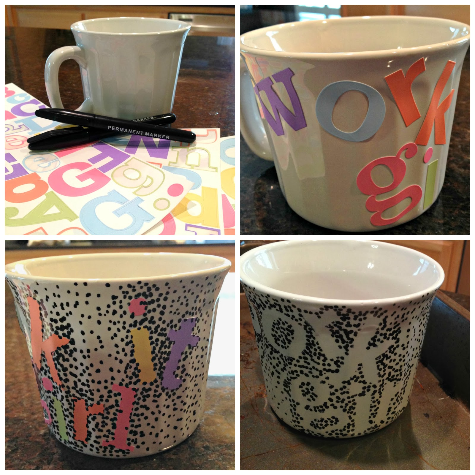 all things katie marie diy coffee mug design doodle ideas - Coffee Mug Design Ideas