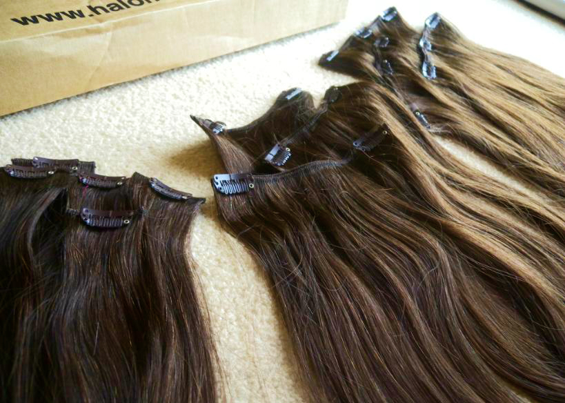 Halo Hair Extensions 20 Deluxe Clip Ins Vs The Halo Miss