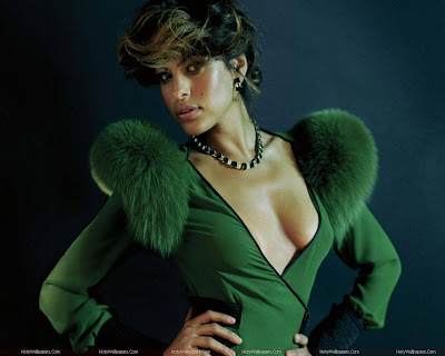 Hollywood Actress Eva Mendes Desktop Wallpaper