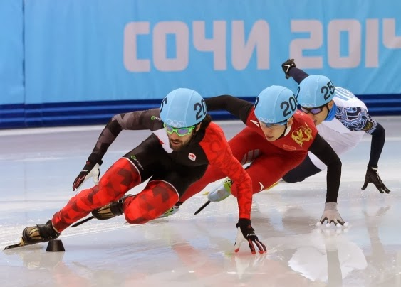 Olympic Gold Speed Skating 2014