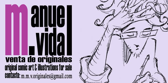 Manuel M. Vidal venta de originales
