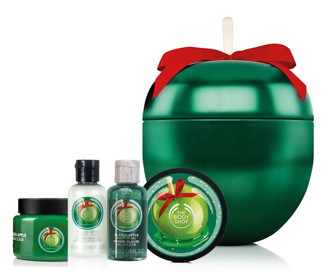 Cofre Manzana Glaseada de The Body Shop
