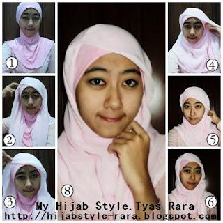 buat para hijabers,,ada tutorial hijab segitiga nih,,