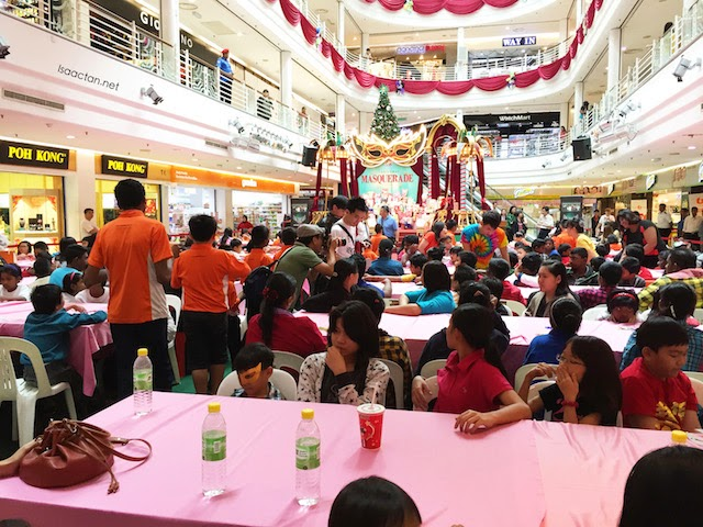Air of festivities at Cheras Leisure Mall today