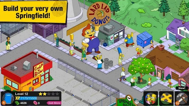 The Simpsons Tapped Out 4.8.1 Apk game