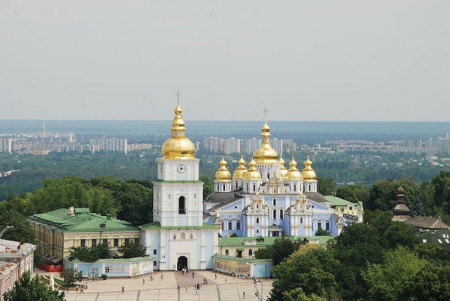 St Michael Church (Golden dommed monastery) in Kiev, - Travel Ukraine Guide