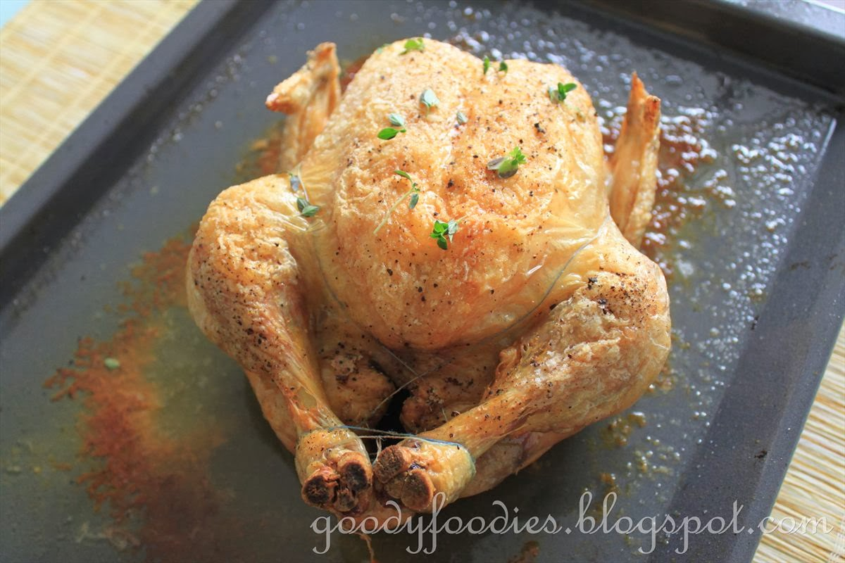 GoodyFoodies: Recipe: Thomas Keller's Simple Roast Chicken (mon poulet ...