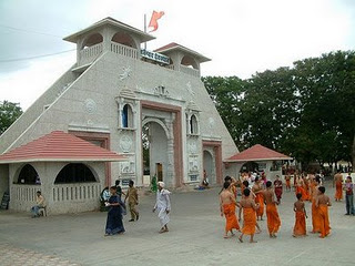 Front View of Shani Shingnapur Temple Picture in Maharashtra