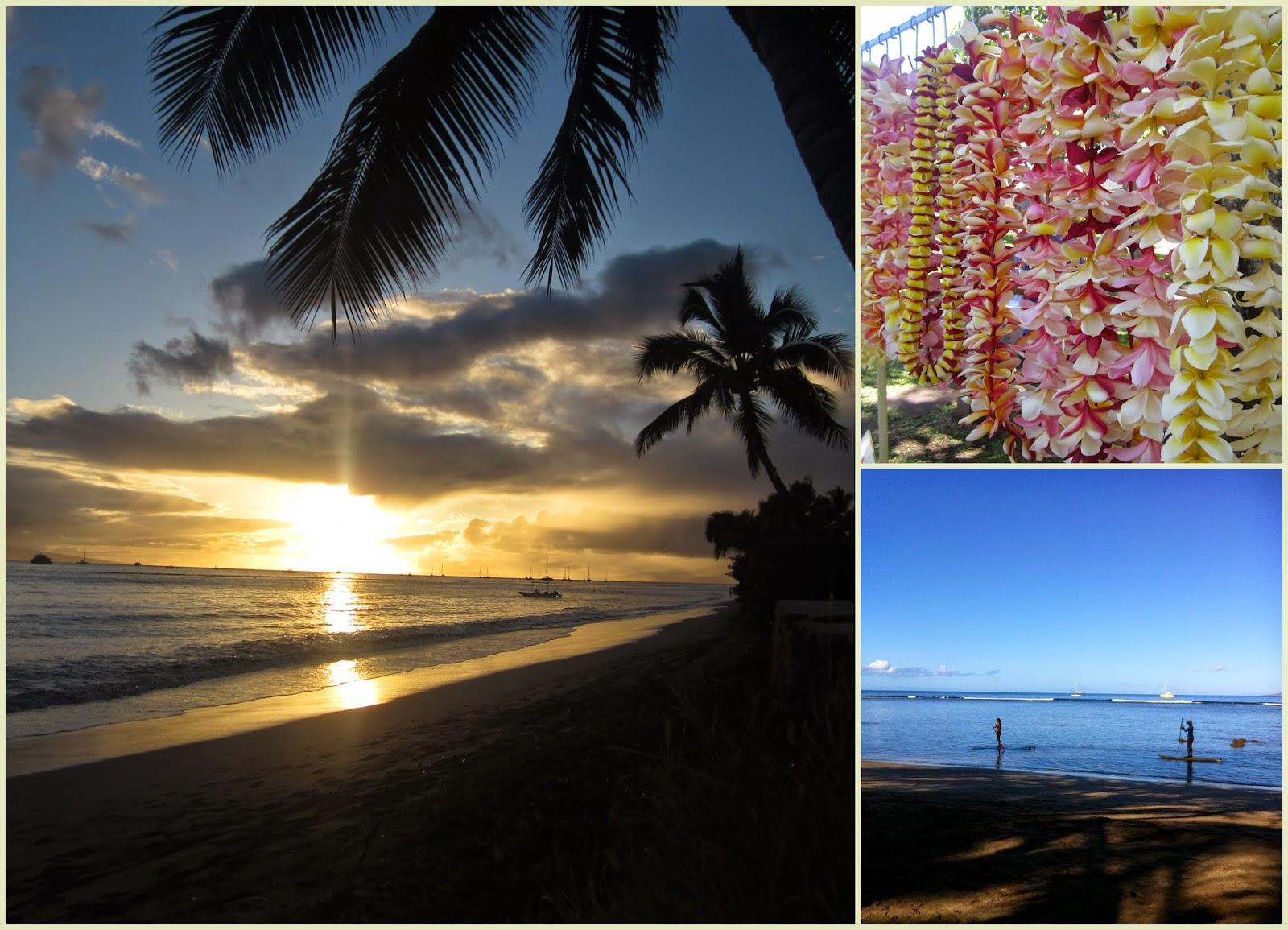 """Playa de Lahaina, atardecer, Maui, Hawái"""