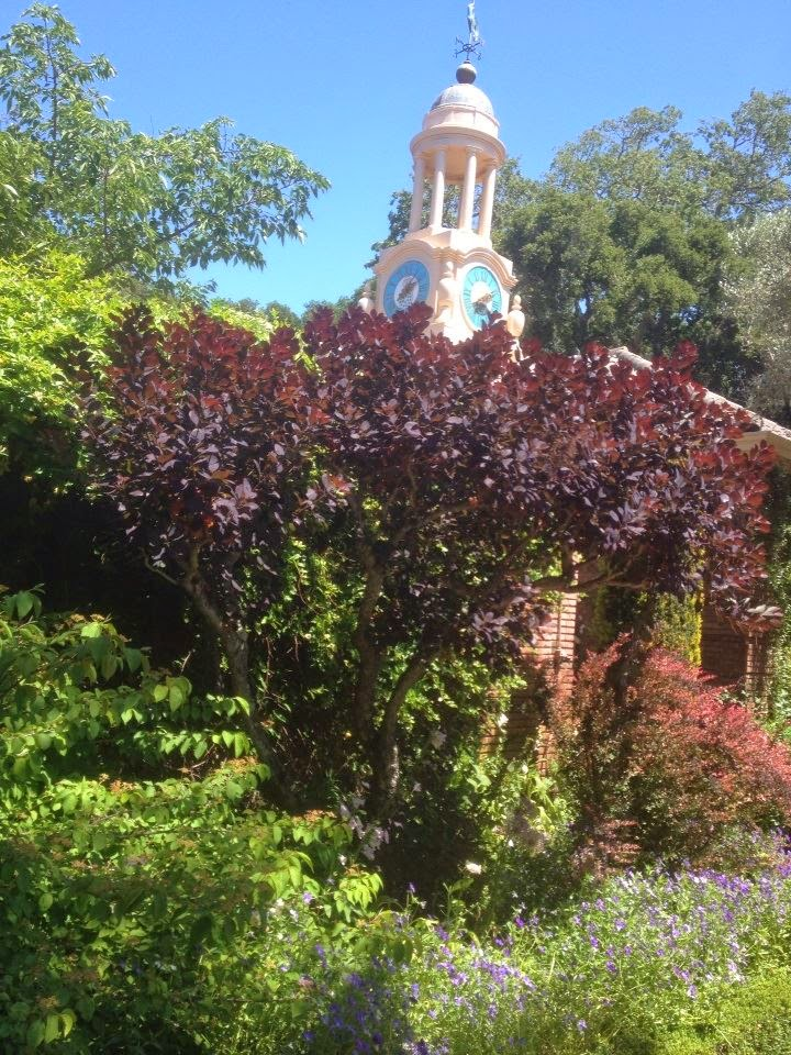 Filoli formal garden California