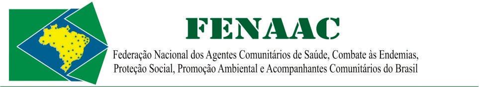 FENAAC - Federação Nacional dos ACS, ACE, APS, APA E AC do Brasil