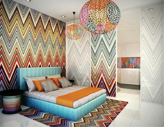 DORMITORIO MISSONI BEDROOMS