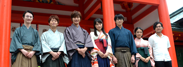 Chihayafuru Live Action: Primeiras fotos do visual dos personagens