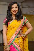 Leema glamorous photos in half saree-thumbnail-2